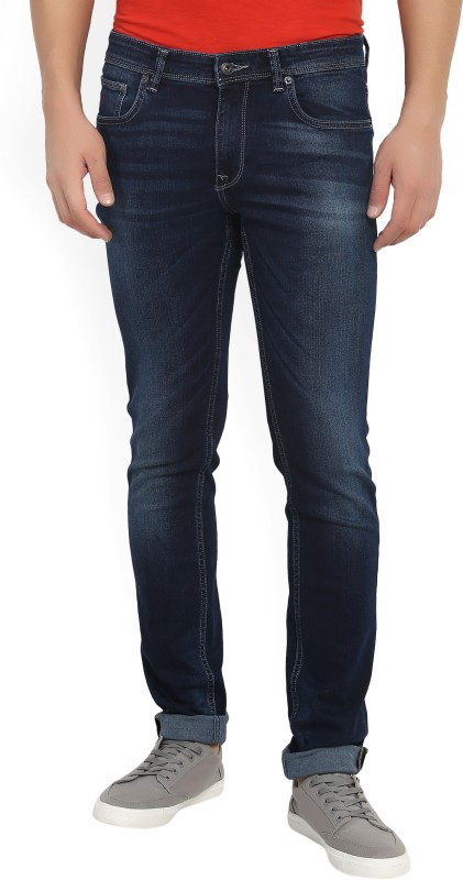 Indian Terrain Slim Men Dark Blue Jeans