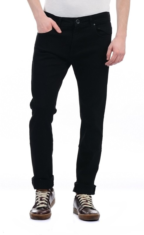 Pepe Jeans Regular Mens Black Jeans