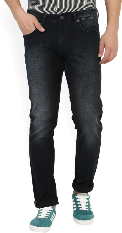 Indian Terrain Regular Mens Black Jeans