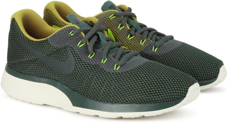 Nike TANJUN RACER Running For Men(Brown, Green)