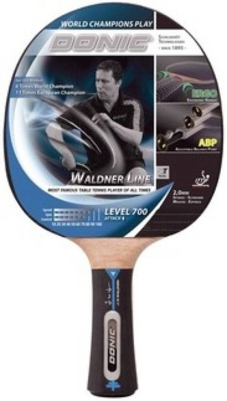 Donic WALDNER 700 Rollaway Indoor Table Tennis Table(Red, Black)