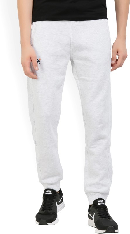 Superdry Solid Mens White Track Pants