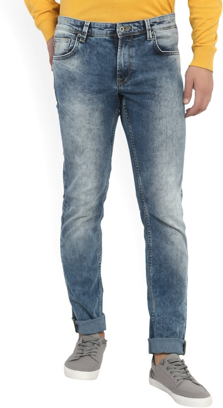 Indian Terrain Mens Blue Jeans