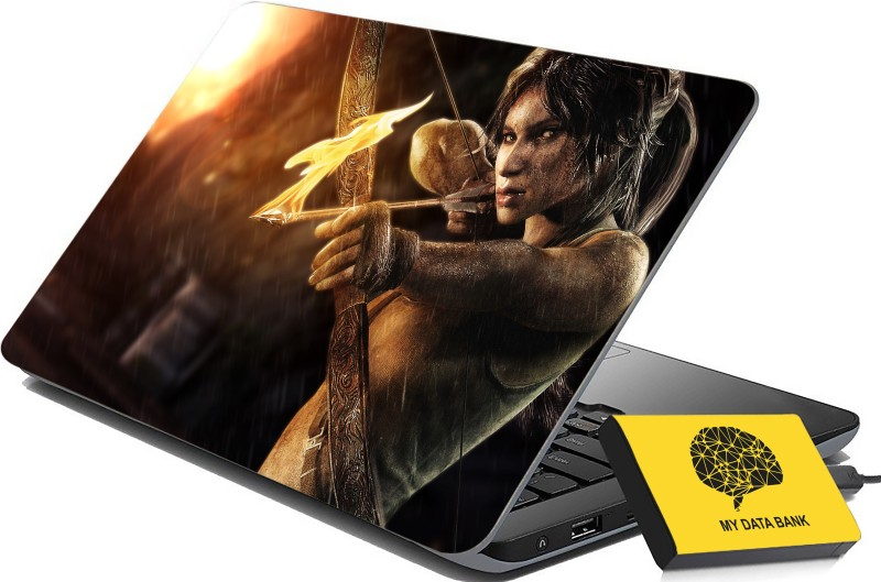 100yellow Printed Gaming Laptop Skin Decal 15.6 Inches for Lenovo HP Acer Dell Asus -245 -Laptop Skin Combo PVC Vinyl Laptop Decal 15.6