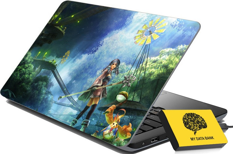 100yellow Printed Gaming Laptop Skin Decal 15.6 Inches for Lenovo HP Acer Dell Asus -313 -Laptop Skin Combo PVC Vinyl Laptop Decal 15.6