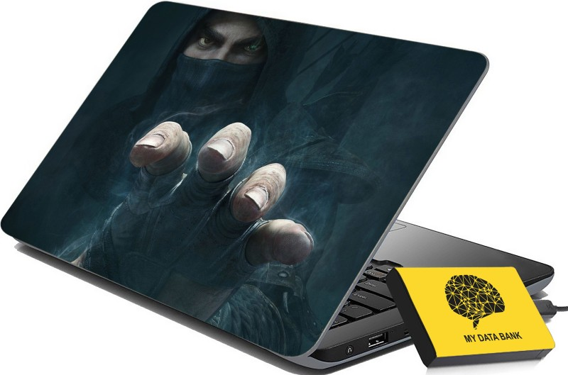 100yellow Printed Gaming Laptop Skin Decal 15.6 Inches for Lenovo HP Acer Dell Asus -232 -Laptop Skin Combo PVC Vinyl Laptop Decal 15.6