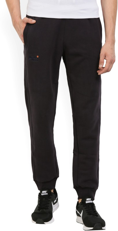 Superdry Solid Mens Grey Track Pants