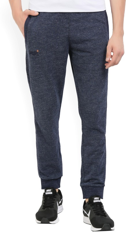Superdry Solid Mens Blue Track Pants