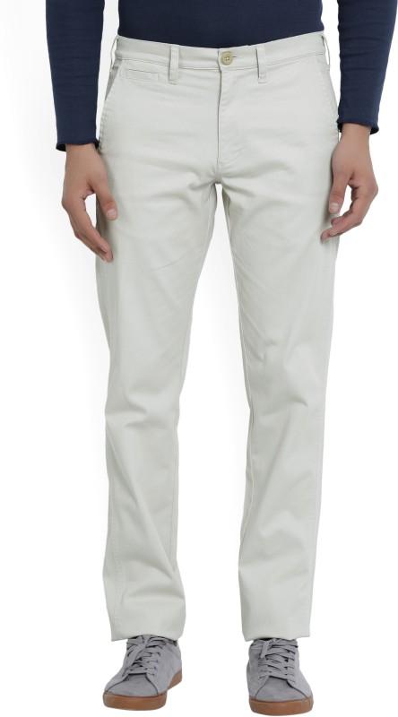 Wrangler Slim Fit Mens Beige Trousers