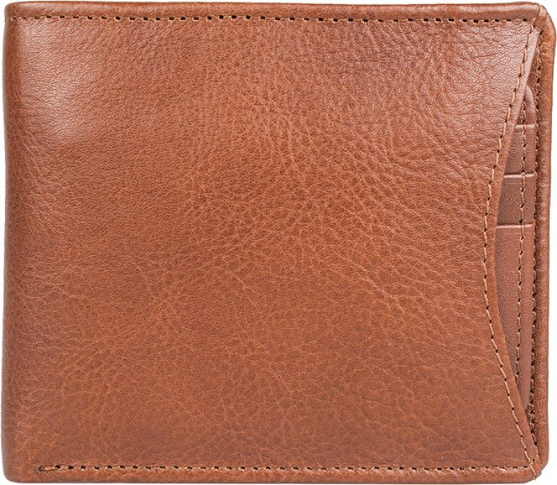 Hidesign Men Tan Genuine Leather Wallet(1 Card Slot)