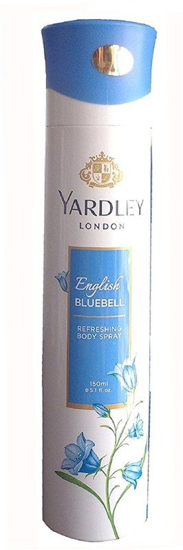 Yardley London Women English BlueBell 150ML Body Spray - For Women(150 ml)