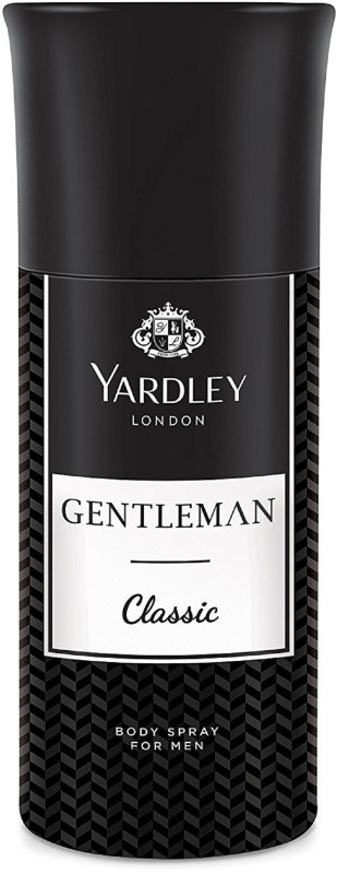 Yardley London Men Gentleman Classic 150ML Body Spray - For Men(150 ml)