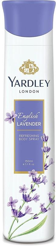 Yardley London Women English Lavender 150ML Body Spray - For Women(150 ml)