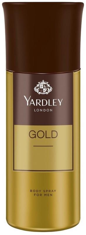 Yardley London Men Gold 150ML Body Spray - For Men(150 ml)