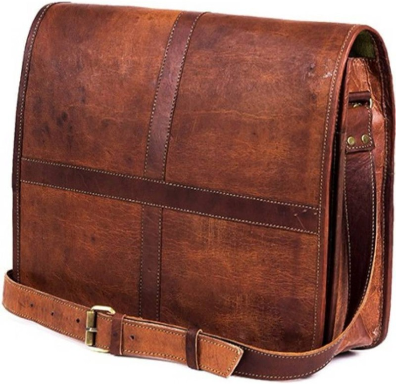 SN Men & Women Brown Messenger Bag