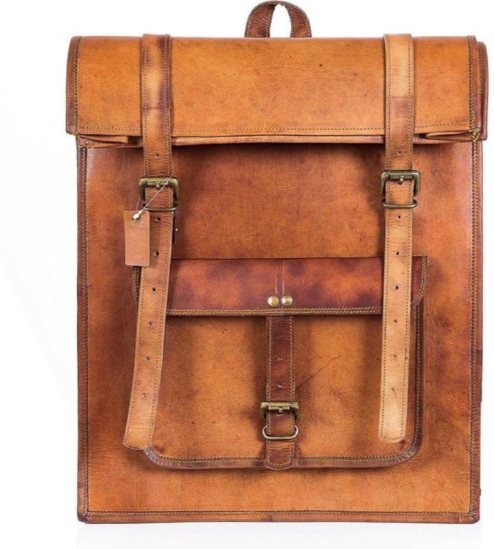SN 15 inch Laptop Backpack(Brown)