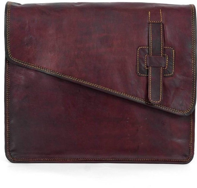 SN 13 inch Laptop Messenger Bag(Brown)