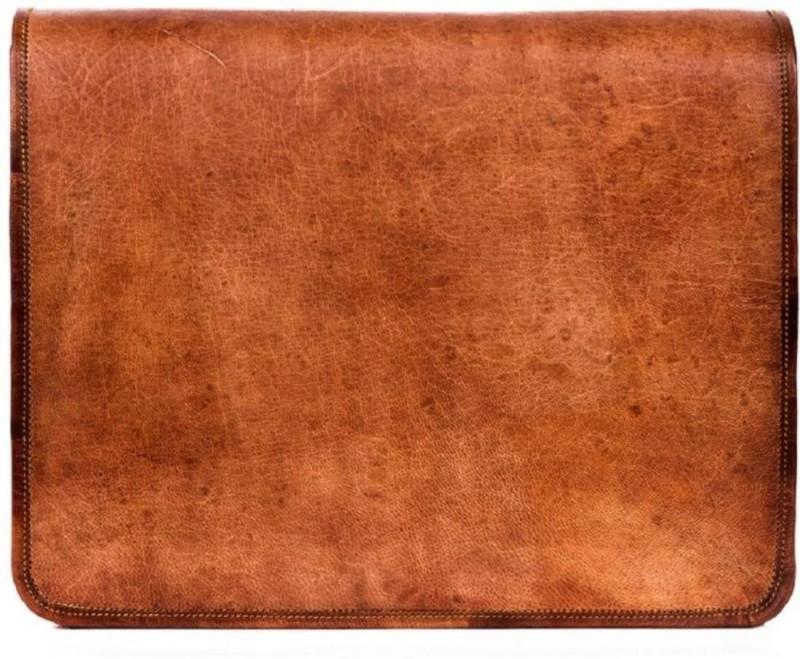 SN 15.6 inch Laptop Messenger Bag(Brown)