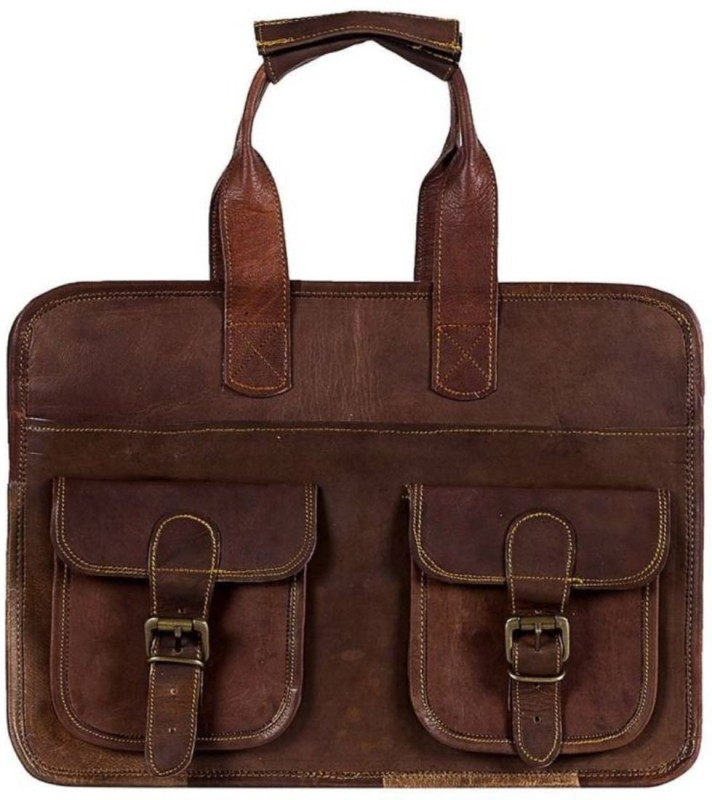 SN 15 inch Laptop Messenger Bag(Brown)