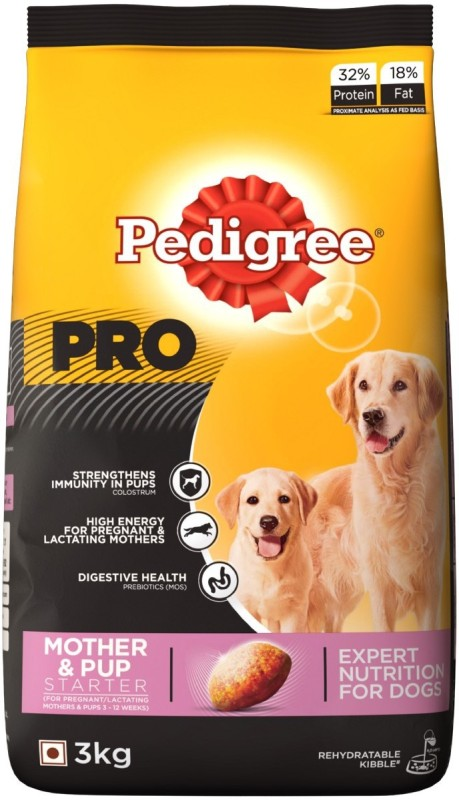 Pedigree PRO Expert Nutrition Starter Mother and Pup Chicken 3 kg Dry Dog Food