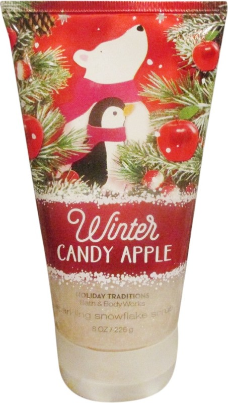 Bath & Body Works Winter Candy Apple Scrub(226 g)