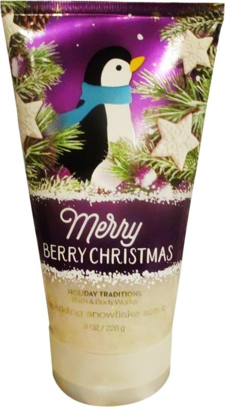 Bath & Body Works Merry Berry Christmas Scrub(269 g)