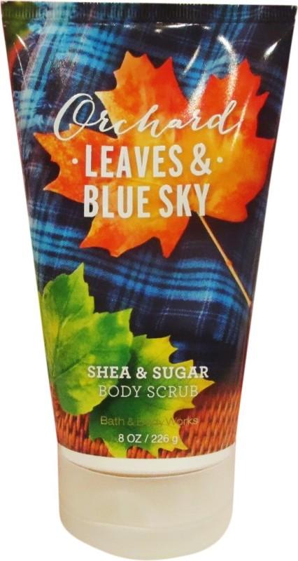Bath & Body Works Orchad Leaves & Blue Sky Scrub(226 g)