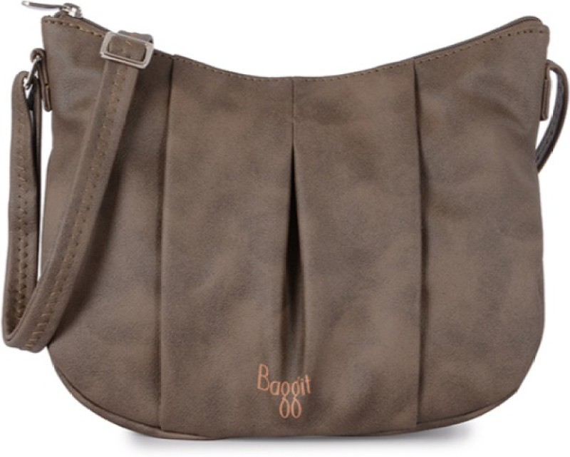 Baggit Women Brown PU Sling Bag