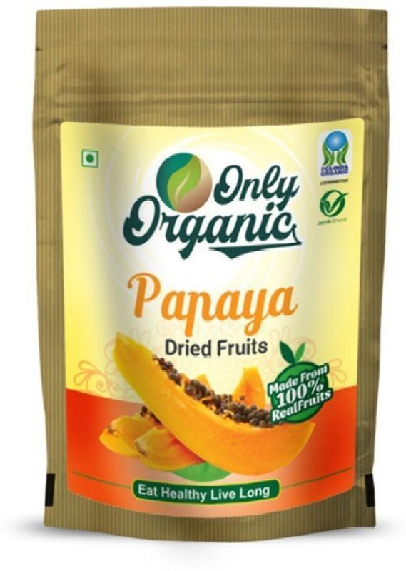 Only Organic Organic Papaya Dried Fruits 100 gm(100 g, Pouch)