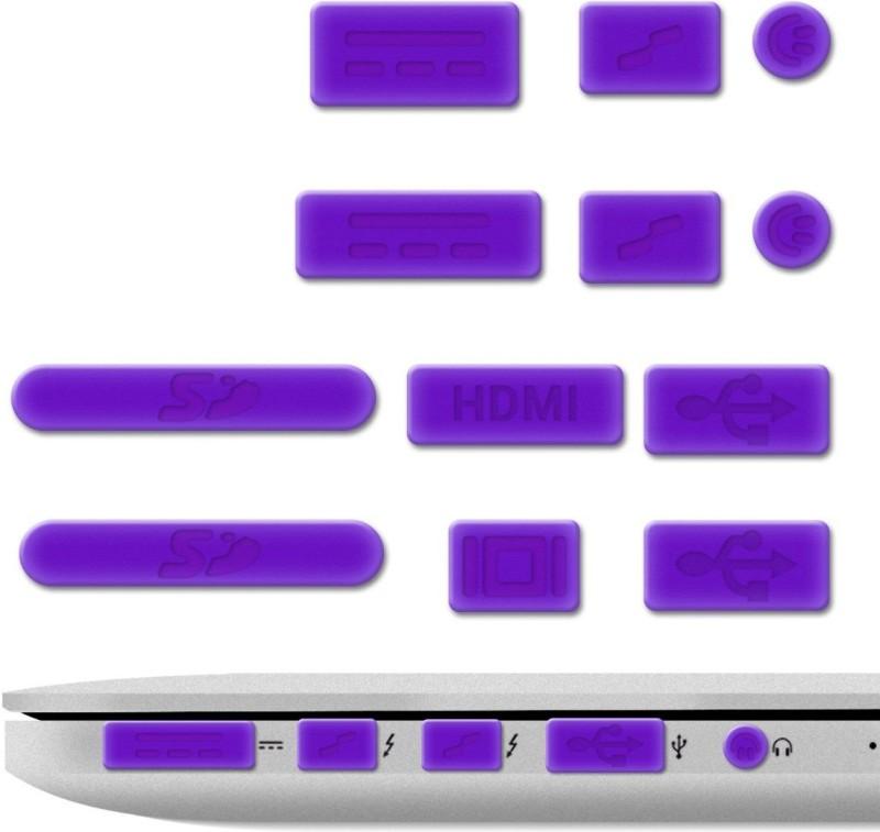 Heartly USB Purple Anti-dust Plug(Laptop Pack of 13)