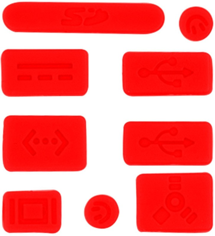 Heartly USB Red Anti-dust Plug(Laptop Pack of 13)