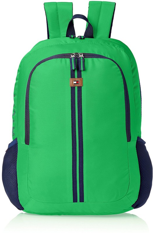 Tommy Hilfiger Green Casual Backpack 20 L Backpack(Green)