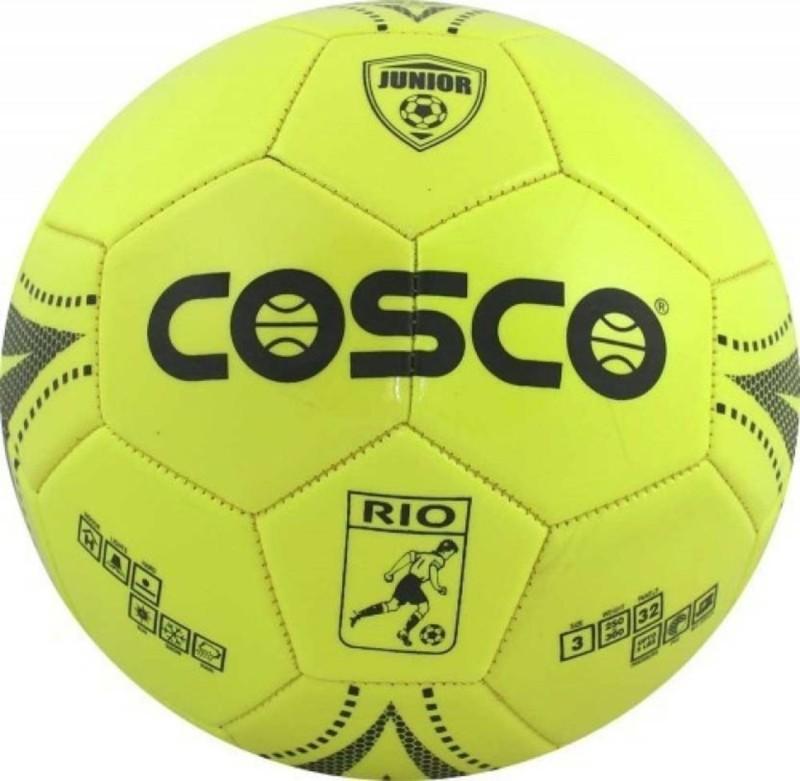 Cosco Rio Football - Size: 3(Pack of 1, Multicolor)