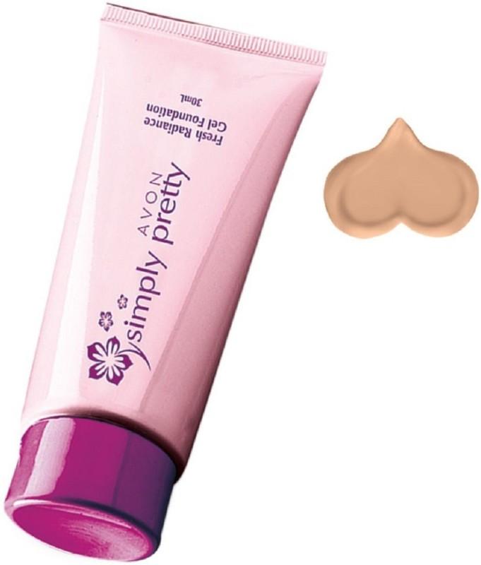 Avon Simply Pretty Fresh Radiance Gel Foundation - Natural Beige 30 ml Foundation(Natural Beige, 30 ml)