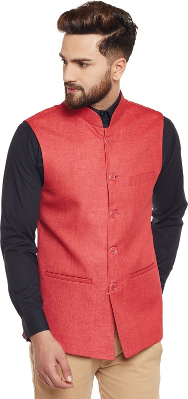 Hancock Sleeveless Solid Mens Jacket