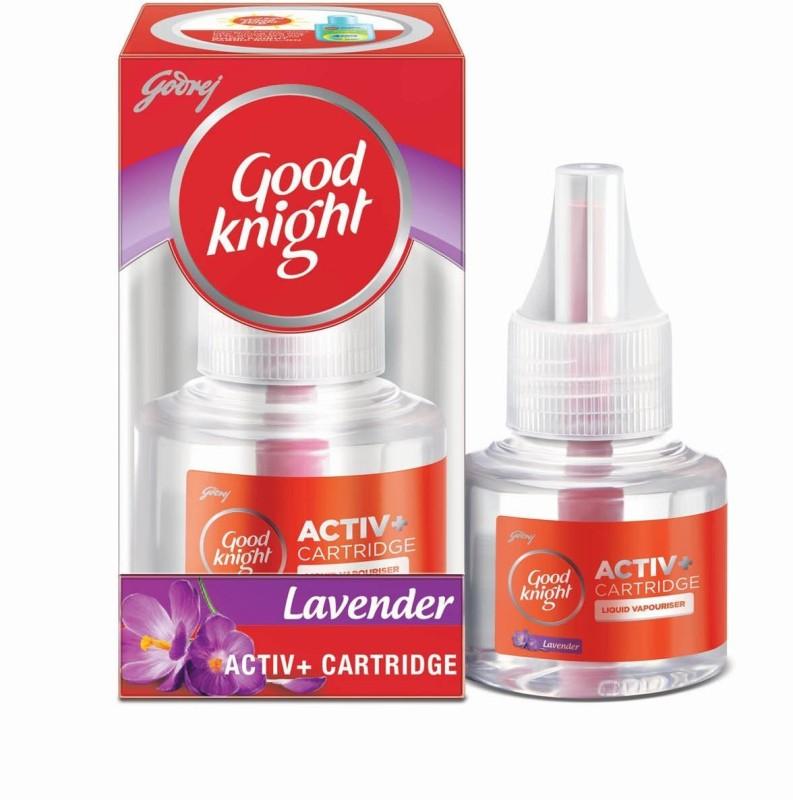 Godrej Good knight Activ + Cartridge - Lavender, 45 ml Mosquito Vaporiser Refill