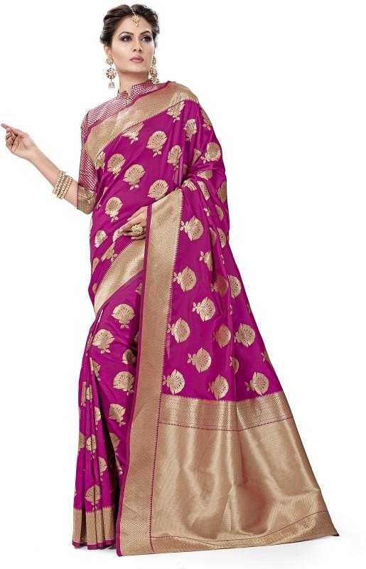 Sanku Fashion Solid, Self Design, Striped Kanjivaram Pure Silk, Banarasi Silk, Art...