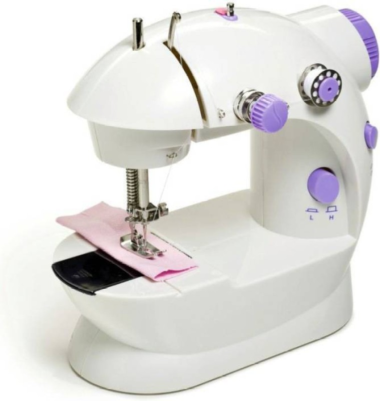 Mezire World Mini Portable Sew 2-Speed Sewing Machine with 4 Bobbins[US STOCK] Electric Sewing Machine�( Built-in Stitches 1) Electric Sewing Machine( Built-in Stitches 1)