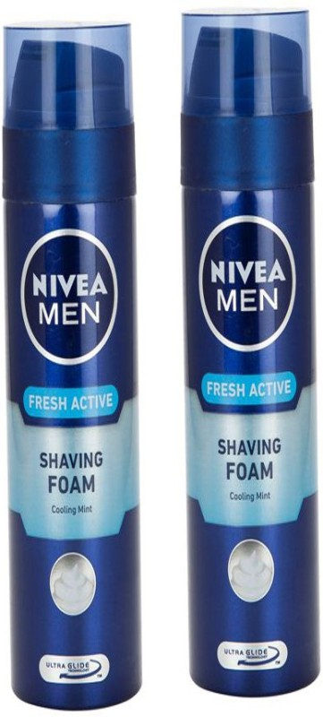 Nivea MEN FRESH ACTIVE SHAVING FOAM 200 ML(200 ml)
