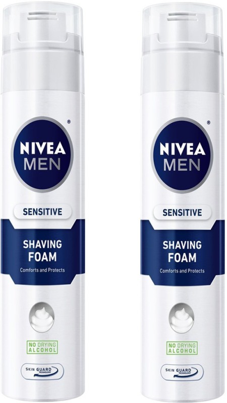 Nivea MEN SENSITIVE SHAVING FOAM 200 ML(200 ml)