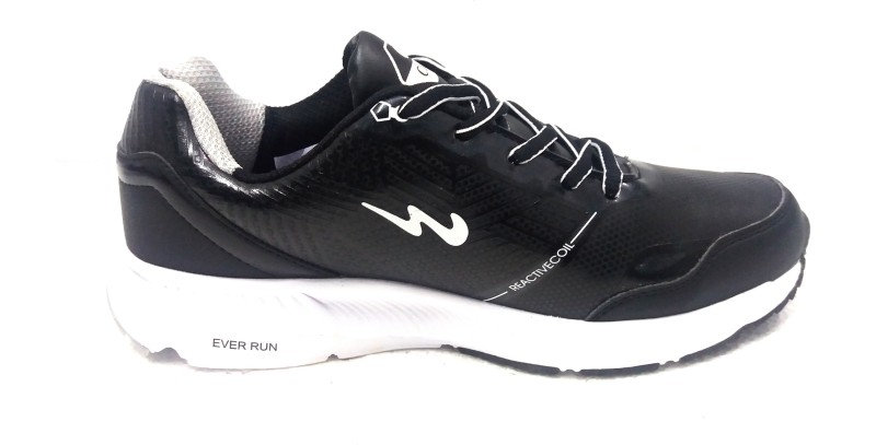 Campus Running Shoes For Men(Black, White)