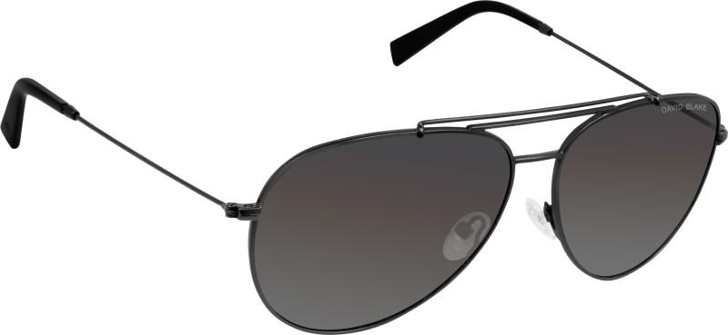 David Blake Aviator Sunglasses(Grey)