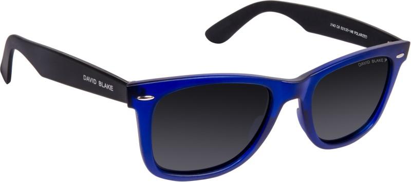 David Blake Wayfarer Sunglasses(Grey)