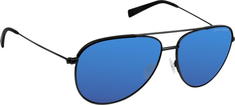 David Blake Aviator Sunglasses(Blue)