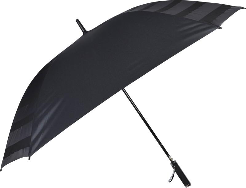 Murano Black square shape attractive Protection Umbrella(Black)