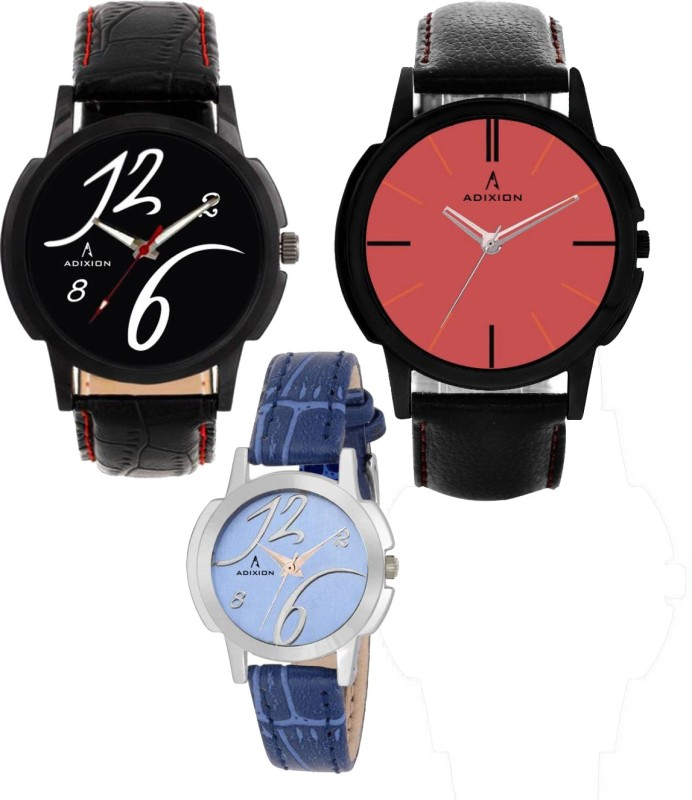 ADIXION 9502NLB1\9425SL04\9502NLB1 Tri Combo Leady & Gents Women's Analog Watch Watch image