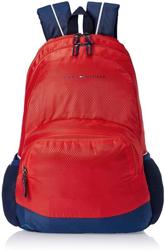 Tommy Hilfiger Yard Polyester Red Childrens Backpack 20 L Backpack(Red)