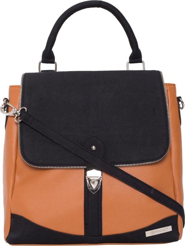Beloved BLSHBBLT030 2.5 L Backpack(Tan, Black)