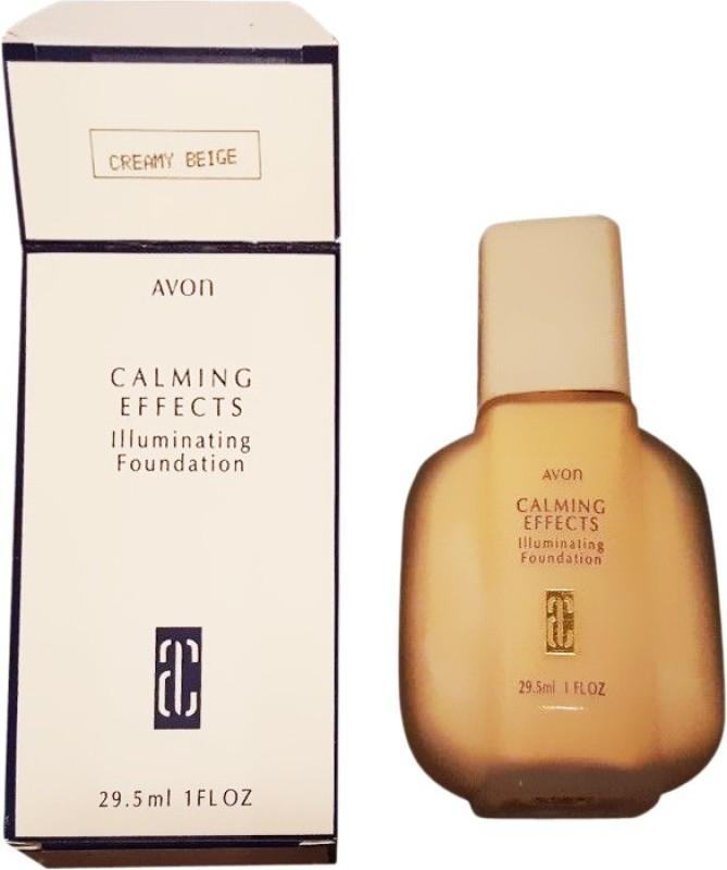 Avon Calming Effects Foundation(Creamy Beige, 30 ml)