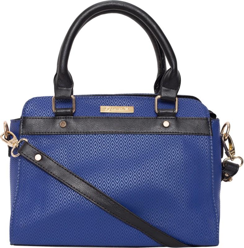 Beloved Women Blue Hand-held Bag